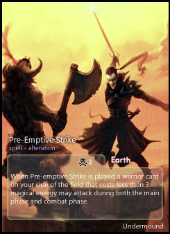 Pre-Emptive Strike: Undermound