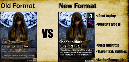 New Format: Cards Of War