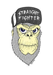 Straight Fighter - #saveorangutans