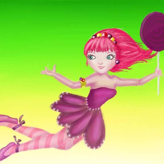 Candy Land Fairy By Demonportal On Deviantart