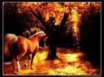Autumn chestnut by corruptangel315