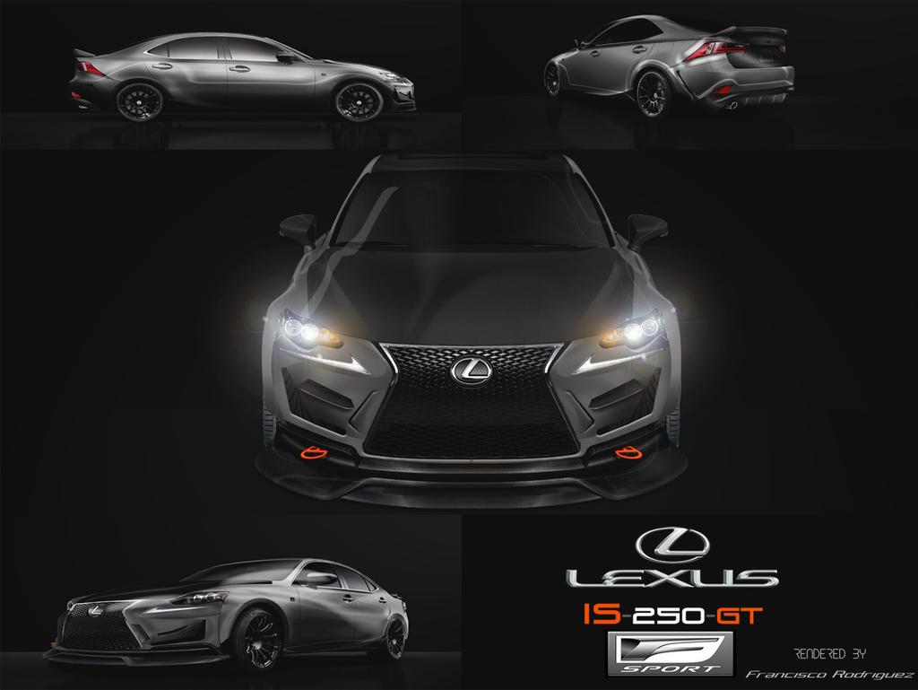 Lexus Is Gt F Sport by Frod214