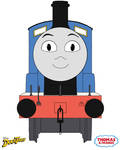 Edward The Blue Engine in DuckTales Style