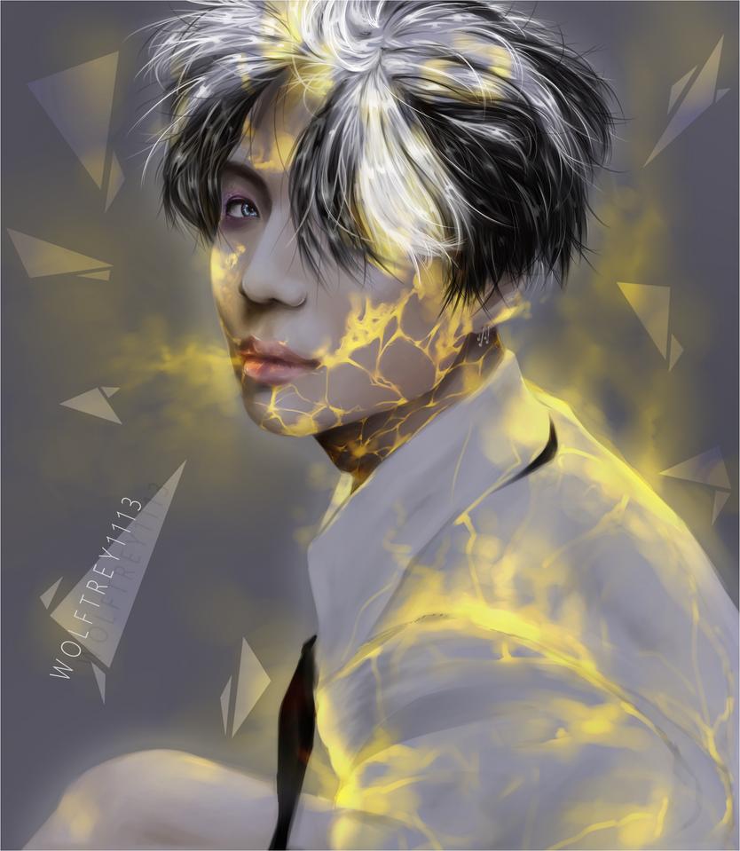 Golden boy by Wolftrey1113