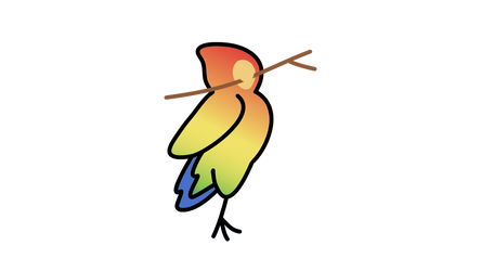Pet a Parrot Logo