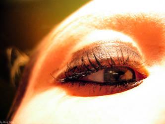 eye of snake. by bLipMaria