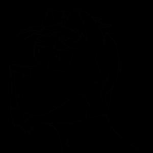 XenoWolf Icon Sketch by Xenogenisis-Wolf
