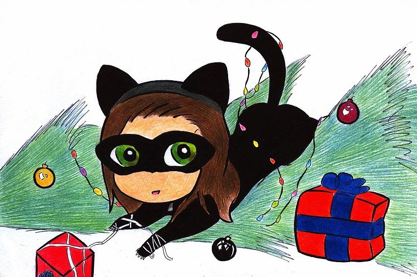 Gift Art: Catwoman by Lilaaku