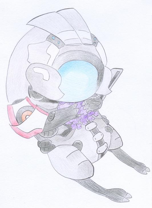 ME: Legion Doodle by Lilaaku