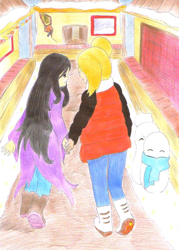 Gift: IzuDei by Lilaaku