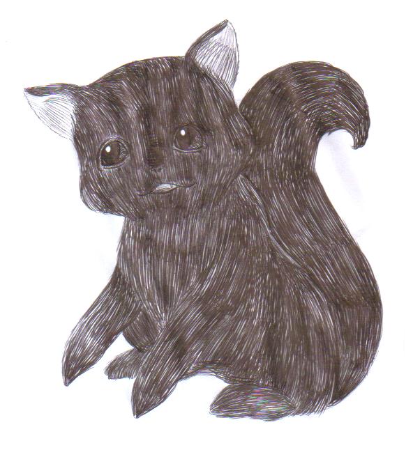 Cat by Lilaaku