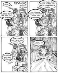 Giga Girl Comic 4 by gigasmash