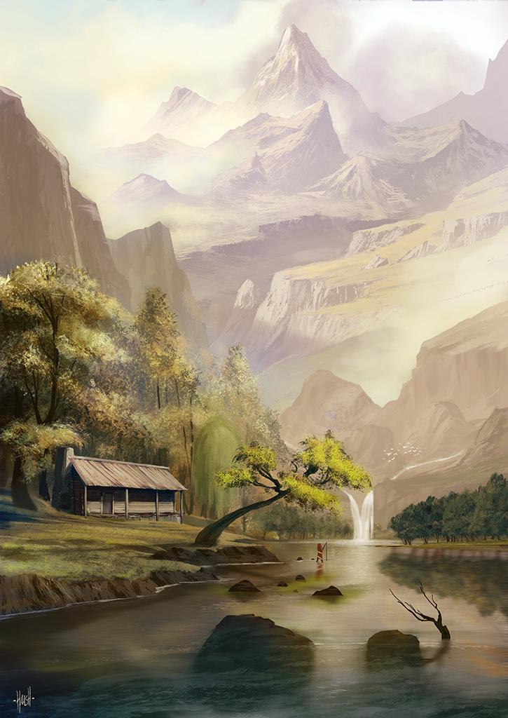 Lake by yohan-haash