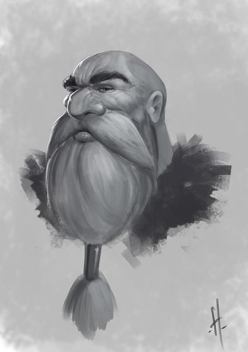 Dwarf 02 by yohan-haash