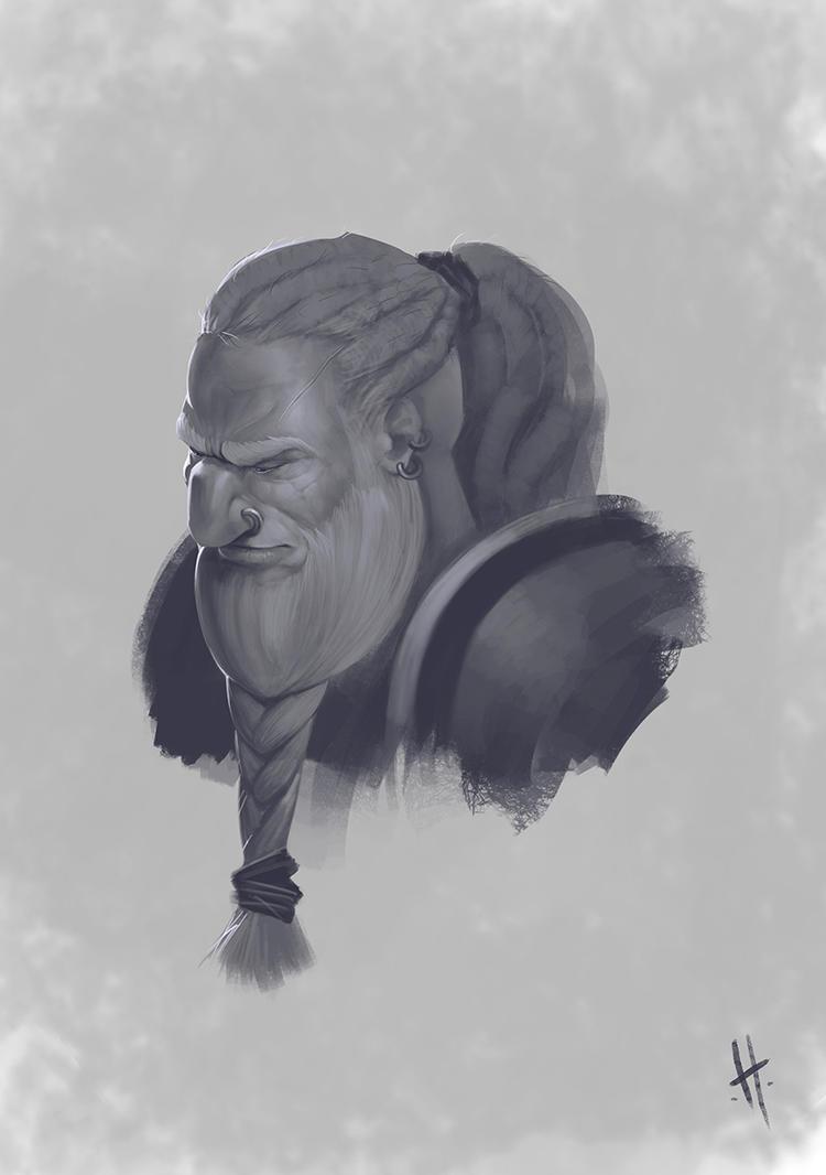 Dwarf 04 by yohan-haash