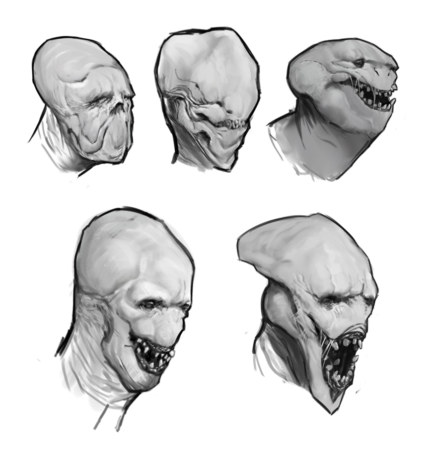 random critters sketches by yohan-haash