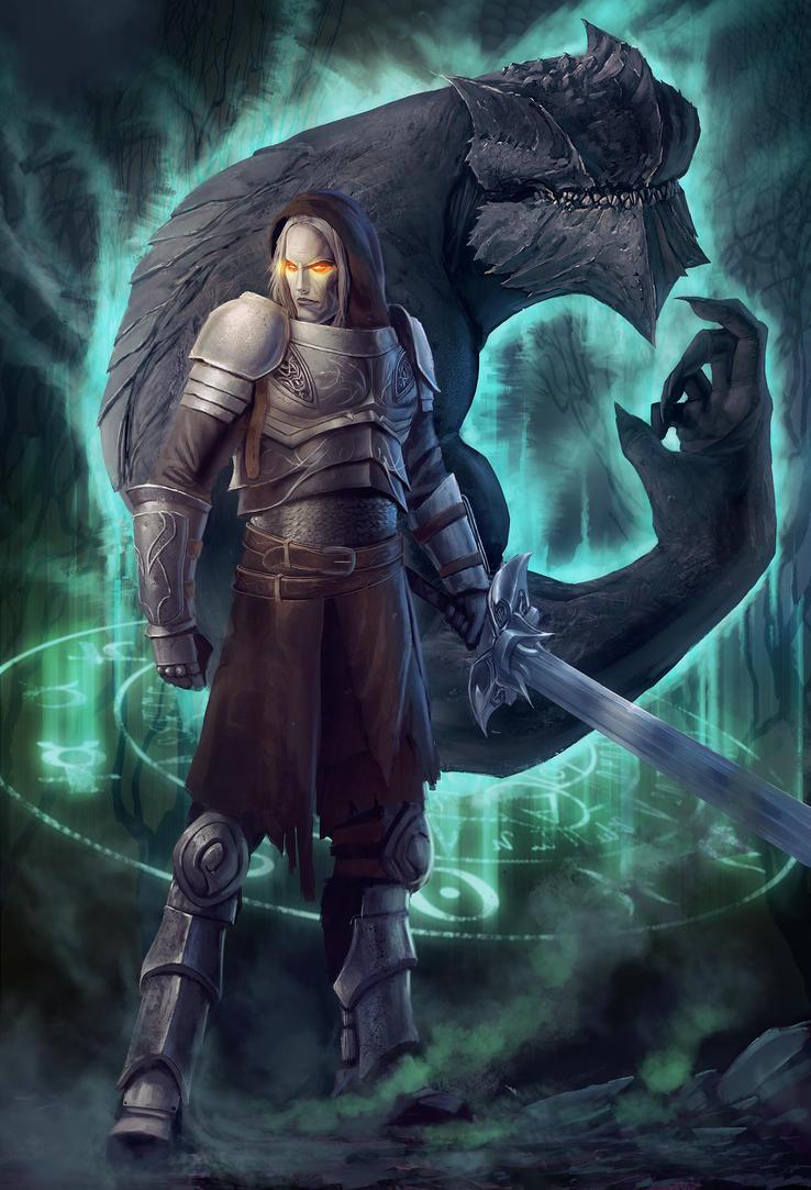 Dark knight by yohan-haash