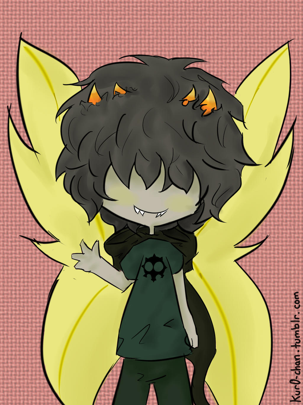 Chibi Heir of Doom by Kur0-chan