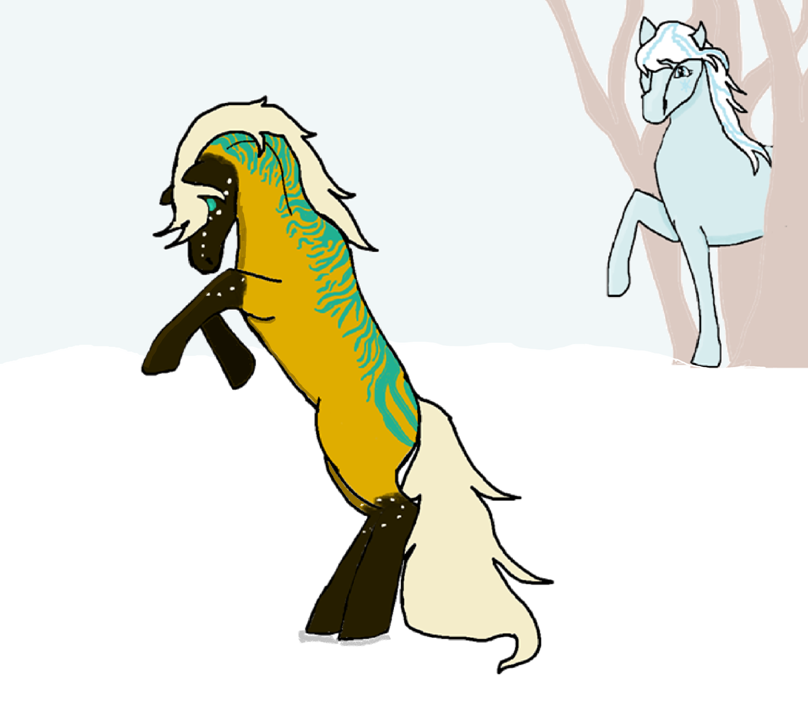 Snow Dance (Cocoa Swirls D2A) by Flyingfetlocks