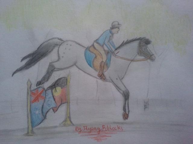 Contest entry for EBS Australiana show by Flyingfetlocks