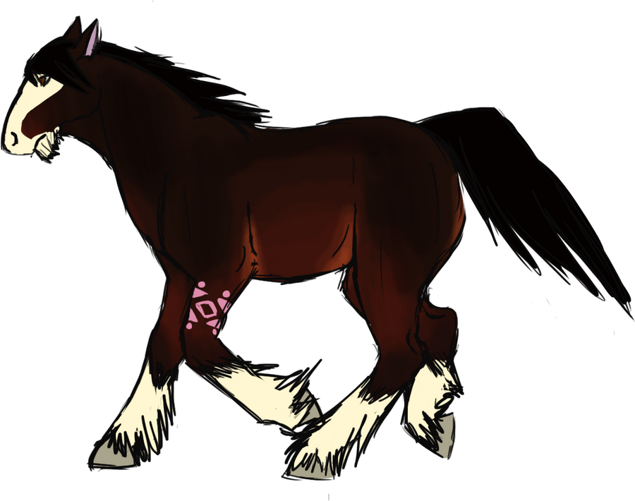 Boris the Badass Horse by tonylefruitbat