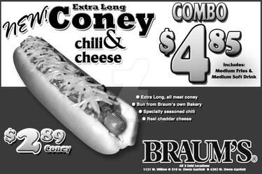 Braum's Coney Ad