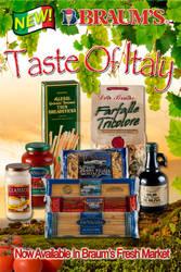 Braum's Taste of Italy Poster