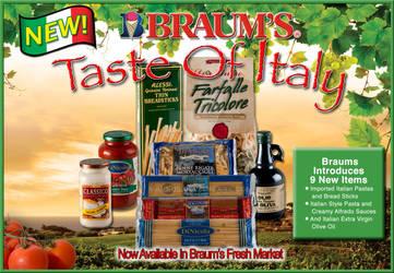 Braums Taste of Italytrayliner