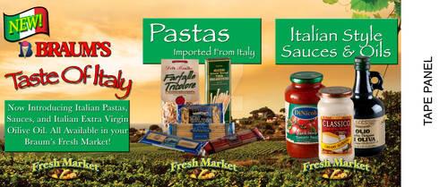 Braums Taste of Italy table t