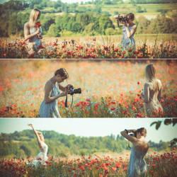 Girl Girl Shooting  Photographerslife