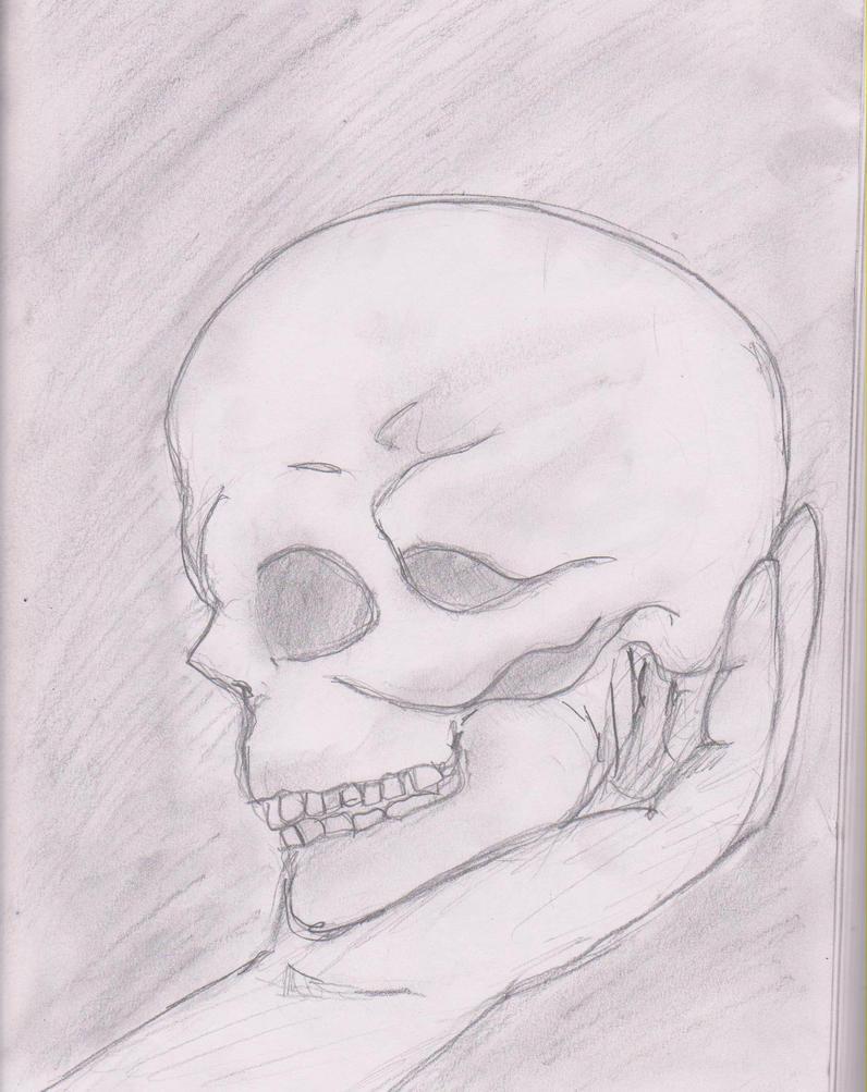 hamlet skull by lionheart34 on DeviantArt