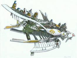 Shiva Airship by SKDYFRNZM