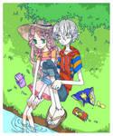 Summer Kids by TakuOKI