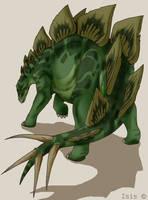 Stegosaurus by IsisMasshiro