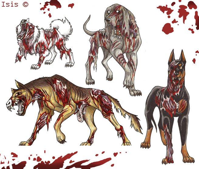 zombie doberman rascal