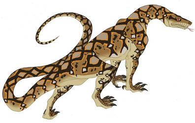 Python reticulatus by IsisMasshiro