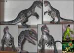 Customized dilophosaurus