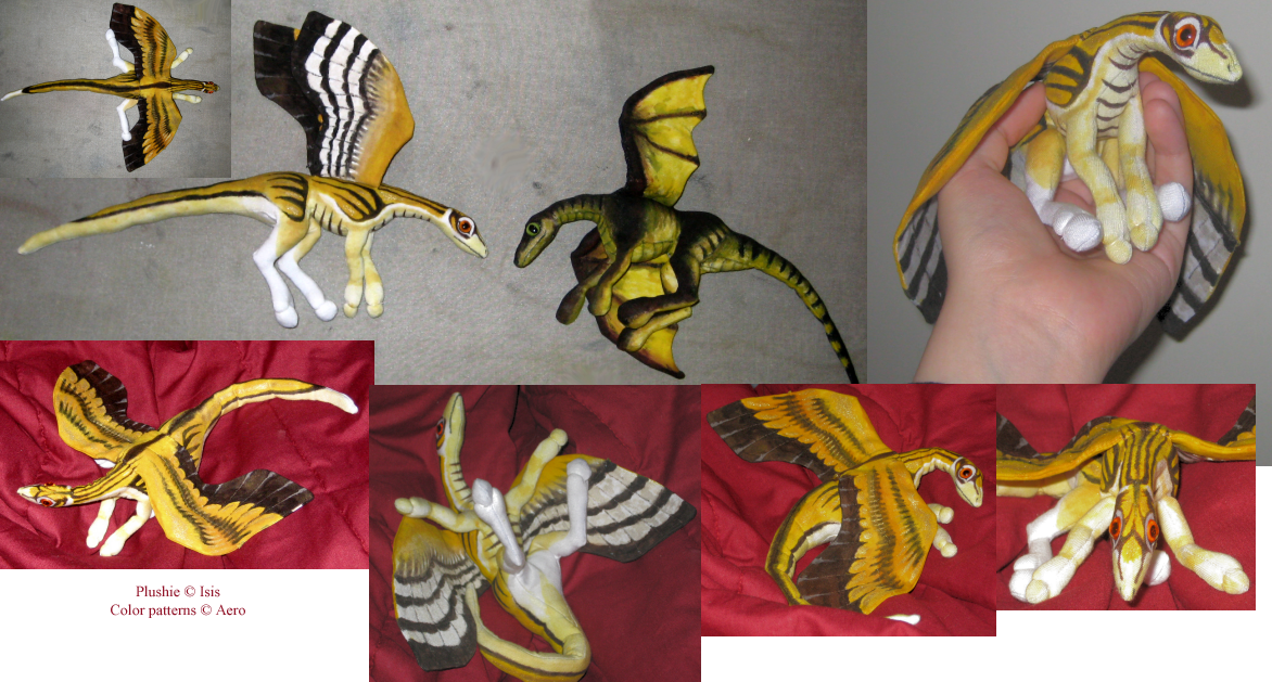 Evolved plushie dragon by IsisMasshiro