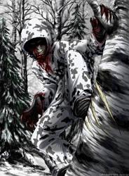 L4D - Winter hunter by IsisMasshiro