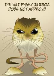 Pygmy jerboa by IsisMasshiro
