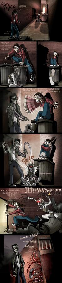 L4D - Witch trick