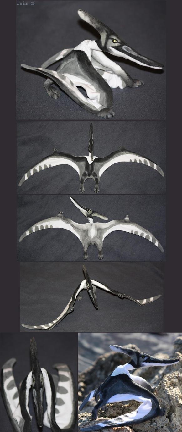 Pteranodon - plushie by IsisMasshiro