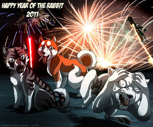 GDW Orion: Year of the Rabbit by IsisMasshiro