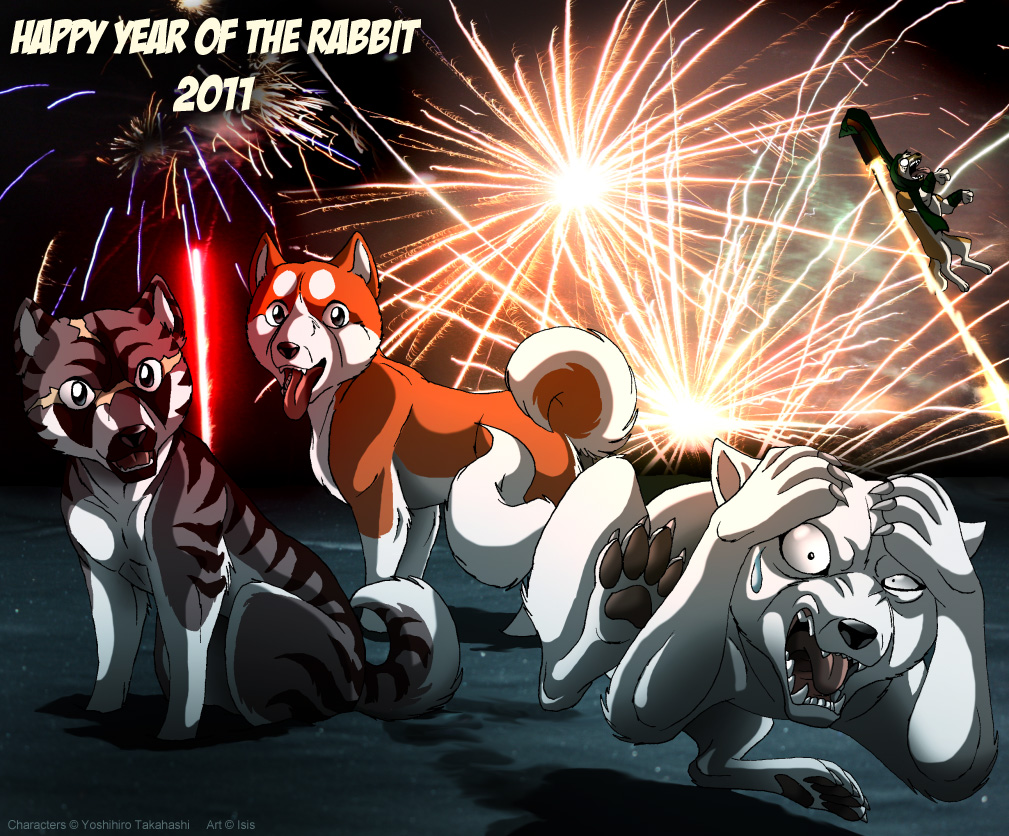 Wallpaper Silver Fang: GDW Orion: Year Of The Rabbit By IsisMasshiro On DeviantArt