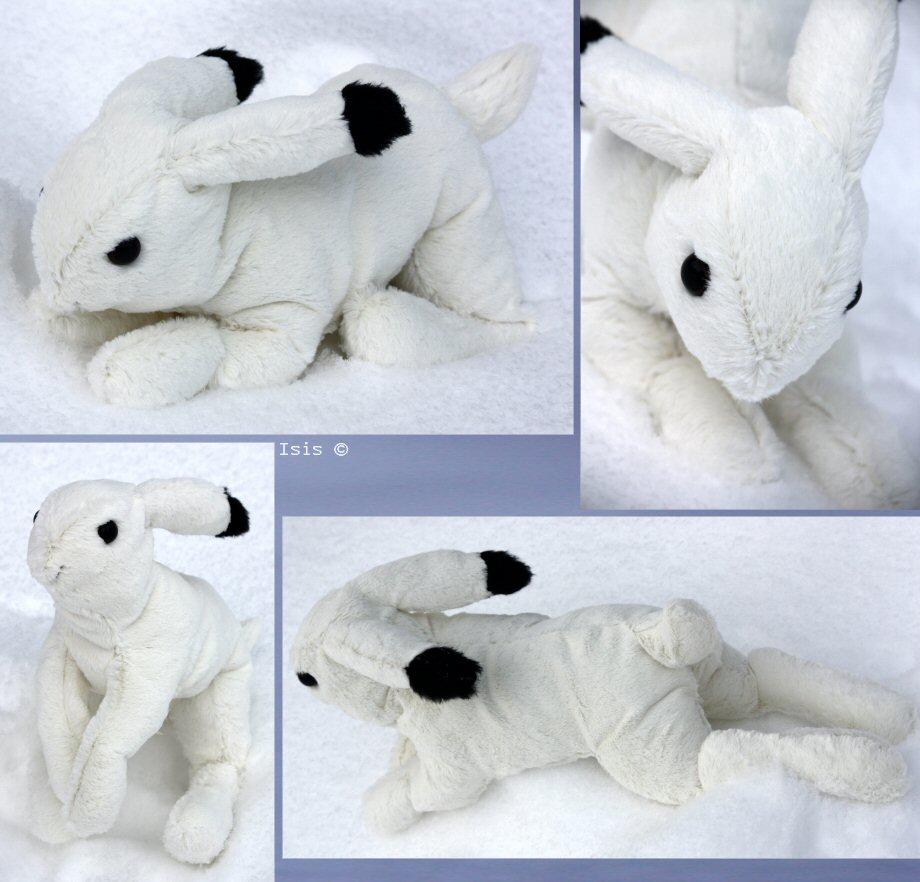 Mountain hare 2 - plushie by IsisMasshiro