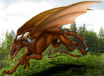 Whiptail dragon