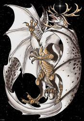 Lapland dragon by IsisMasshiro