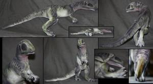 Carcharodontosaurus - plushie by IsisMasshiro
