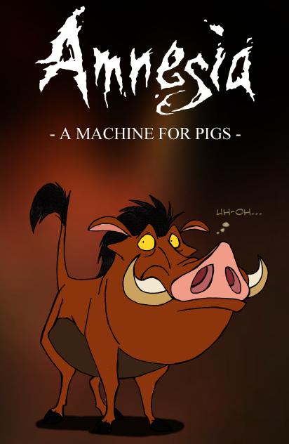 Amnesia - Mr. Pig by IsisMasshiro