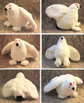 Willow grouse - plushie SOLD
